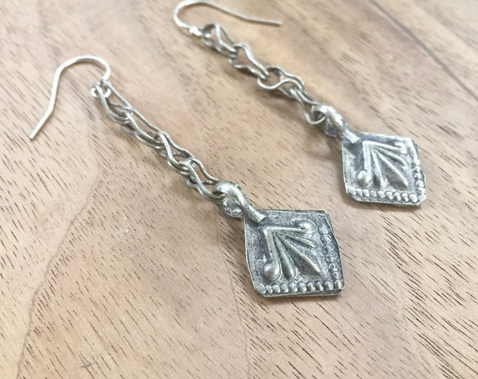 Vintage Kuchi Dangle Earrings
