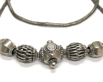 "Antique Sri Lanka Belt, Sri Lanka Necklace, Old Sri Lanka Belt, Ceylon Belt, Ceylonese Necklace, Old India Necklace, 79 cm (31""), 85 Grams"