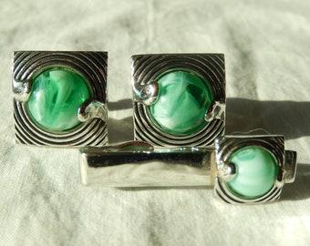 ecfdea50005d Swank cufflinks and tie clip