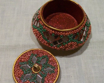 Jeweled Trinket Box