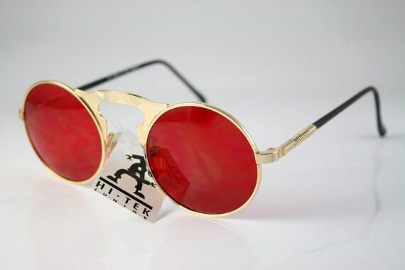 lunettes de soleil rondes John Lennon style objectif cadre   Etsy 015578ae5733