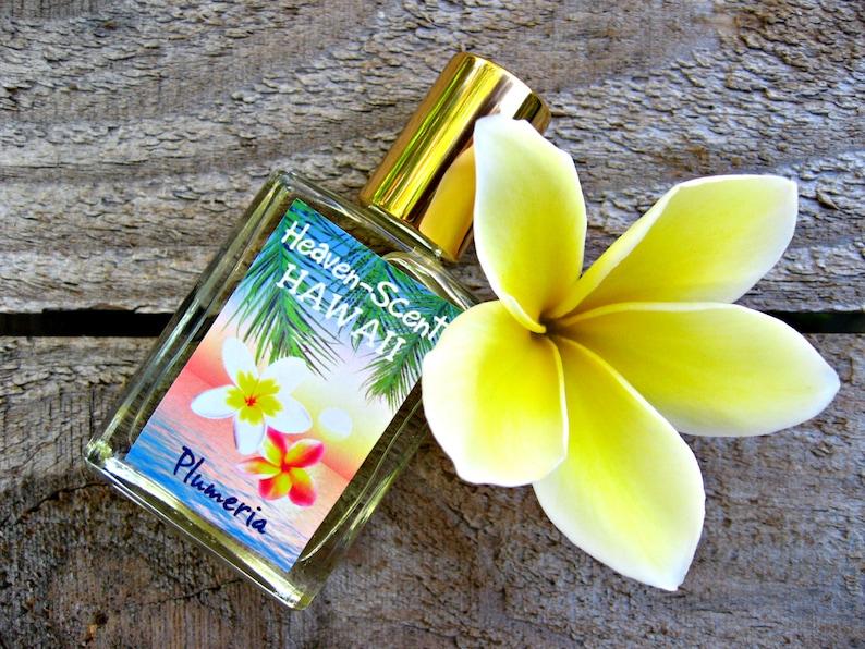 HAWAIIAN PLUMERIA PERFUME. Custom-Blended Roll-on Perfume. image 0