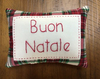 Buon Natale Pillow