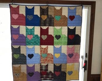 Twenty Cats Quilt