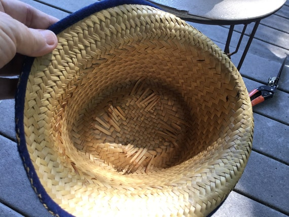 Straw Hat Quirky Straw Hat Tall Fedora Hat Midcen… - image 6