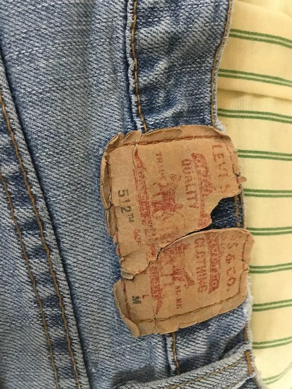 Levi Jeans 512 Classic Slim Stretch 512 Jeans fad… - image 9