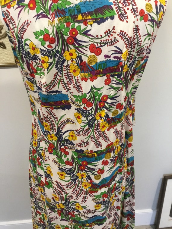 Floral Maxi dress Alice of California Label Bold … - image 4