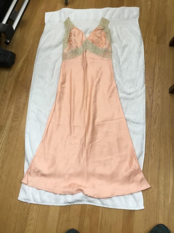Vintage Lingerie Vintage Nightgown Lovely Lace Det