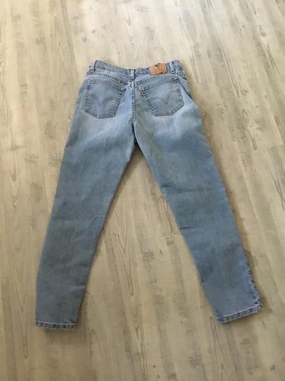 Levi Jeans 512 Classic Slim Stretch 512 Jeans fad… - image 3