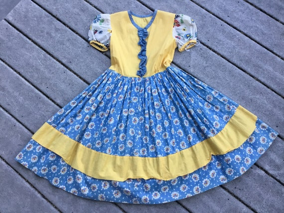 Vintage Little Girl Dress  Vintage Heidi Dress Dir