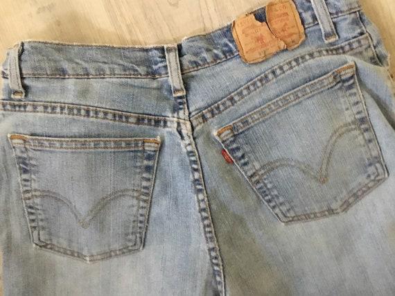 Levi Jeans 512 Classic Slim Stretch 512 Jeans fad… - image 5