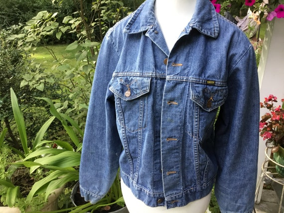 Maverick Jean Jacket Made In USA Blue Bell Maveric