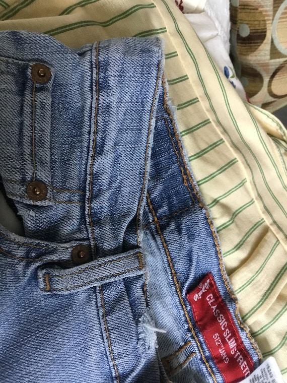 Levi Jeans 512 Classic Slim Stretch 512 Jeans fad… - image 8