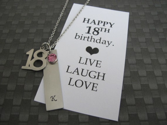 18th Birthday Card Gift Vertical Bar