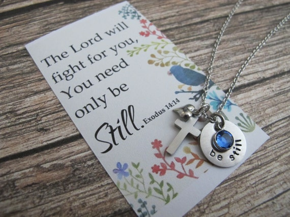 For Her Best Friend Gift Scripture Jewelry Christian