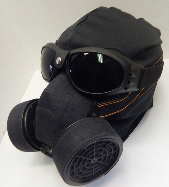 Ninja Mask 3 Pc Set Black Goggles And Steampunk Gas Mask Etsy There are 3 different methods we use which was taught to me and this is. ninja mask 3 pc set black goggles and steampunk gas mask respirator with activated carbon filters and 3 hole pull over riding dust mask