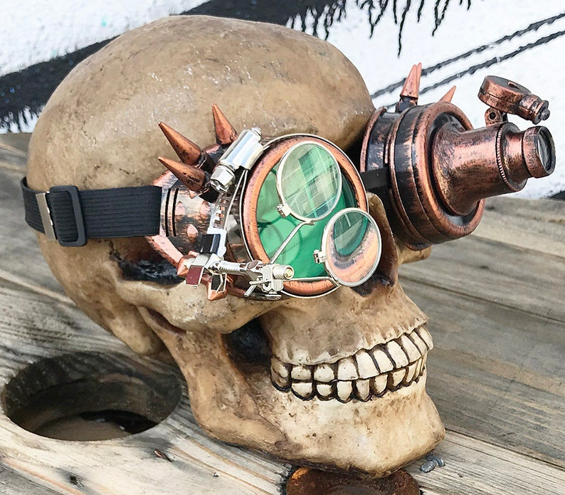 Antique Copper Cyber Steampunk Inspector Gadget Etsy