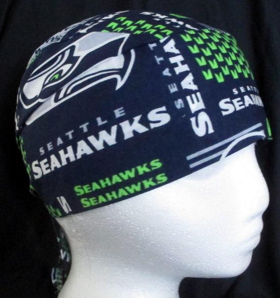 Seattle Seahawks Skull Cap Mütze Lappen Glatze Haar | Etsy