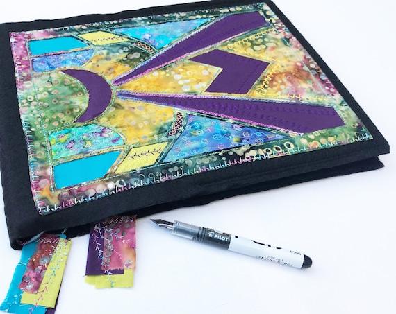 Reusable Sketchbook - Lunar Light A4 Sketch Book, Ideas Journal, Wedding Planner, Memory Book Wedding Guestbook, Memories Album A4 Notebook