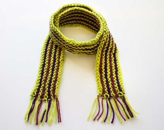 Zombie Green Kid's Scarf - Halloween Children's Green Scarves for Keeping Warm While Trick or Treating!