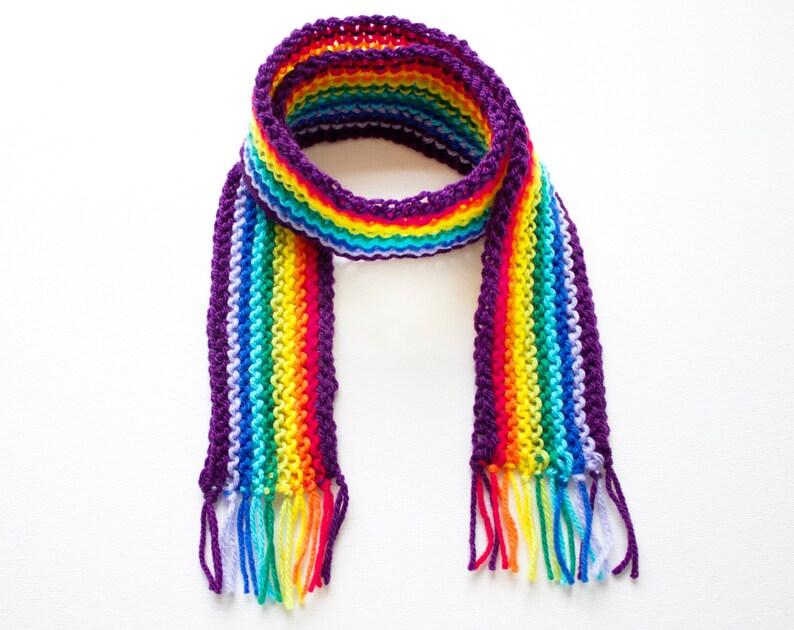 Sciarpe arcobaleno bambini arcobaleno Pixie sciarpa sciarpa  99f9da2446b7