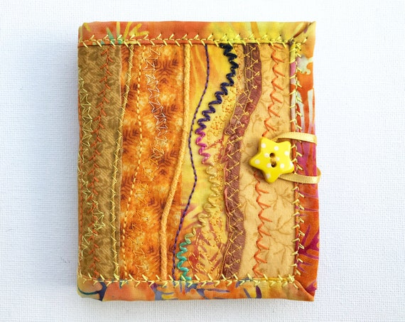 Summer Yellow Needle Book • Embroidery needlework case • Embroidered Needle Books • Sewing organiser, needles case, pins & needles stitching