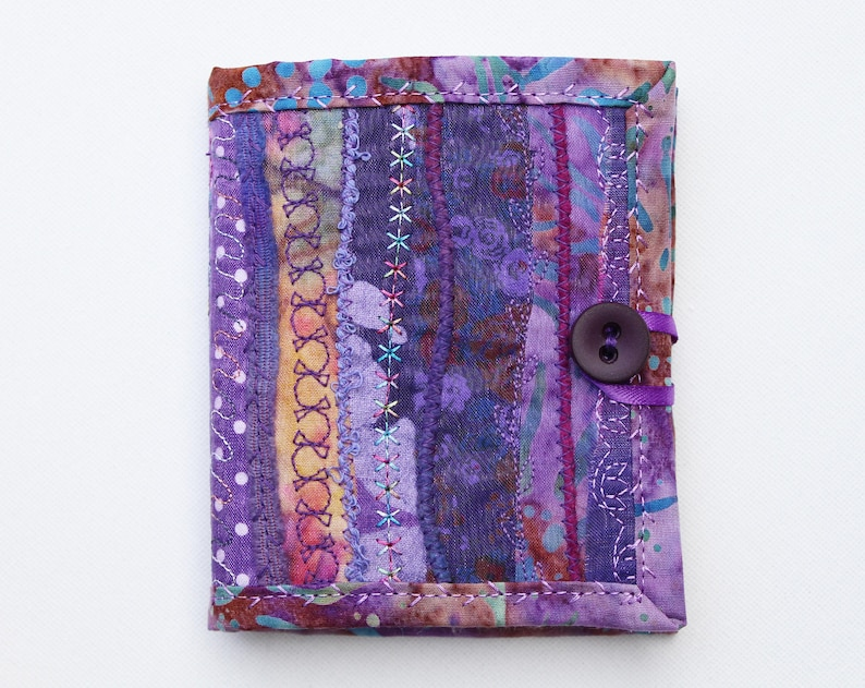 Purple Needle Book  Gifts for crafters Purple needle case image 0