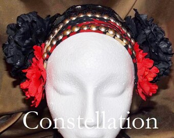 ATS Tribal Fusion Belly Dance Headpiece, Constellation