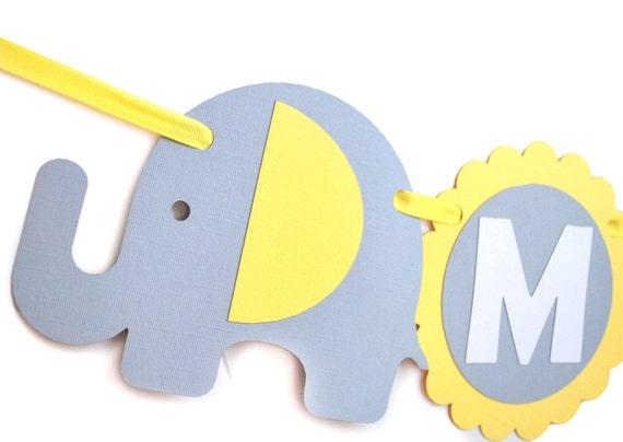 elephant banner baby shower banner banner name elephant birthday