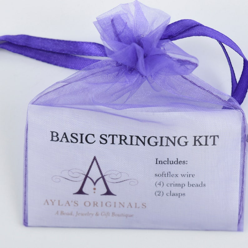 Basic Stringing Necklace Kit image 0