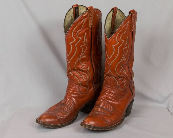 Cowboy boots, Dan Post boots, Men's/Woman's Size 9