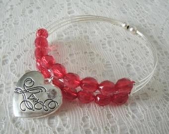 Heart Bracelet, boho jewelry heart jewelry bohemian jewelry gypsy jewelry hippie bracelet boho bracelet bohemian bracelet victorian bracelet