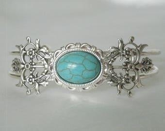 Turquoise Bracelet, boho jewelry turquoise jewelry gypsy jewelry bohemian jewelry hippie bracelet gypsy bracelet new age boho bracelet