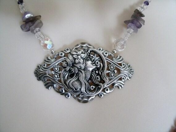 ecate necklace  Dea Ecate wiccan collana dei gioielli collana gioielli Pagani | Etsy