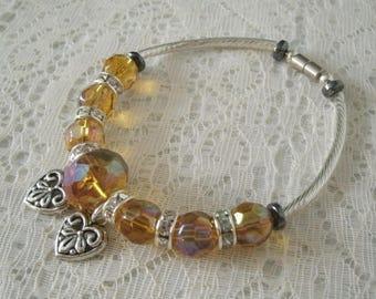 Heart Bracelet, boho jewelry bohemian jewelry hipster jewelry hippie gypsy hipster bracelet bohemian bracelet boho bracelet heart jewelry