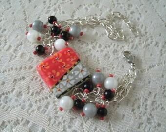 Ceramic Bracelet boho jewelry gypsy jewelry bohemian jewelry hippie jewelry hipster moroccan hippie bracelet bohemian bracelet boho bracelet