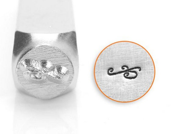6 mm Metal Jewelry Design Stamps by ImpressArt Borders and Flourish 3 mm