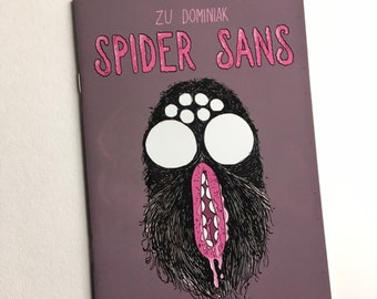 Spider Sans - horror comic halloween