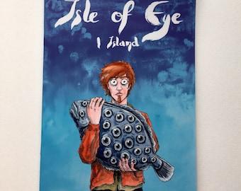 Isle of Eye part one, comic