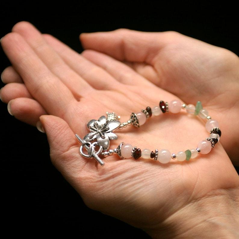 PCOS Fertility Bracelet Infertility Gift Polycystic Ovarian image 0