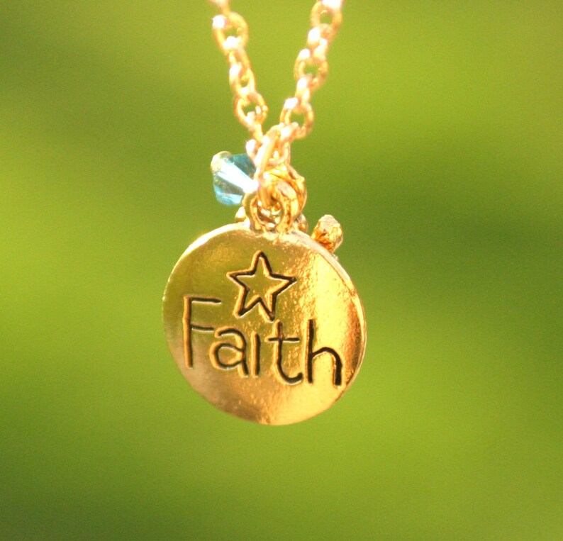 Pregnancy Loss Faith Jewelry Loss of Child Memorial image 0