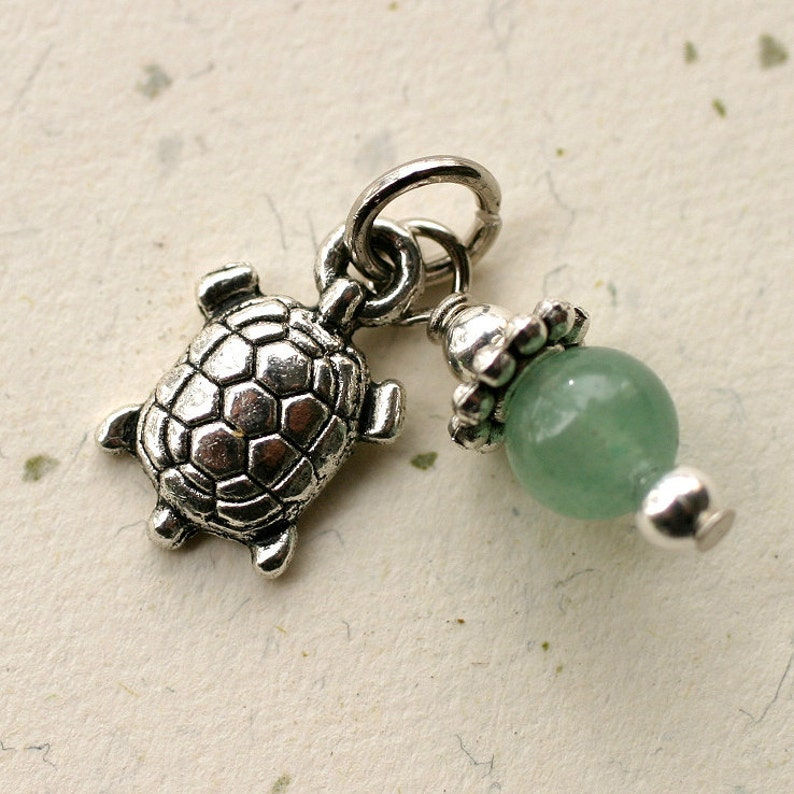 Fertility Charm Gemstone Bead ADD ON gift for IVF fertility image 0