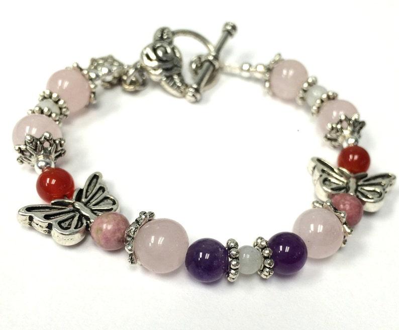 Fertility Bracelet Butterfly Fertility Jewelry Infertility image 0
