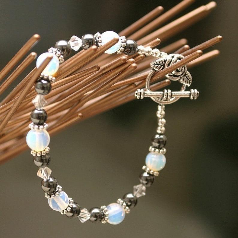 Fertility Bracelet Strength Jewelry Stones Miscarriage TTC image 0