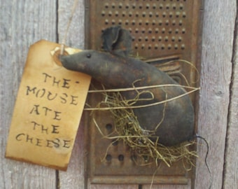 Cheese grater / mouse