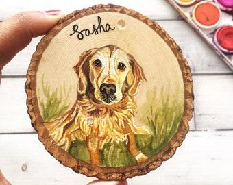 Custom Dog Ornament, Custom Pet Ornament, Painted Custom Dog Ornament, Custom Dog Ornaments, Custom Christmas Ornament, Custom Pet Ornaments