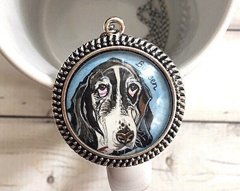 Custom Pet Portrait Necklace, Custom Pet Portrait, Custom Dog Jewelry, Custom Dog Necklace, Dog Mom Gift, Pet Loss Gifts, Christmas Gifts