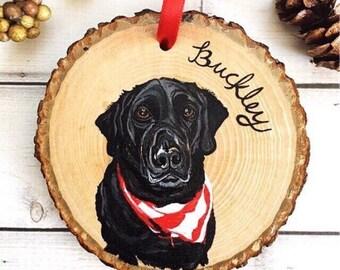 Pet Memorial Ornament, Hand Painted Pet Ornament, Pet Ornaments, Custom Dog Ornament, Custom Pet Ornaments, Custom Christmas Ornaments