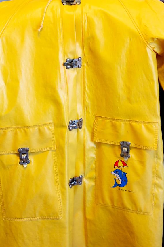 Articoli simili a Childs vintage Rain Coat, Jollette Rain
