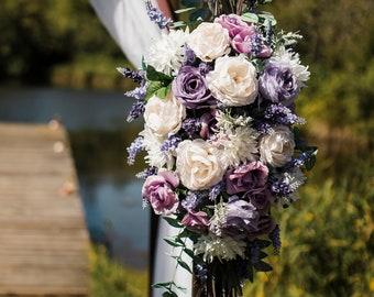 Wedding Ceremony Flower Arrangement, Floral Wedding, Arbor Floral Arrangement, Flower Wedding Decor
